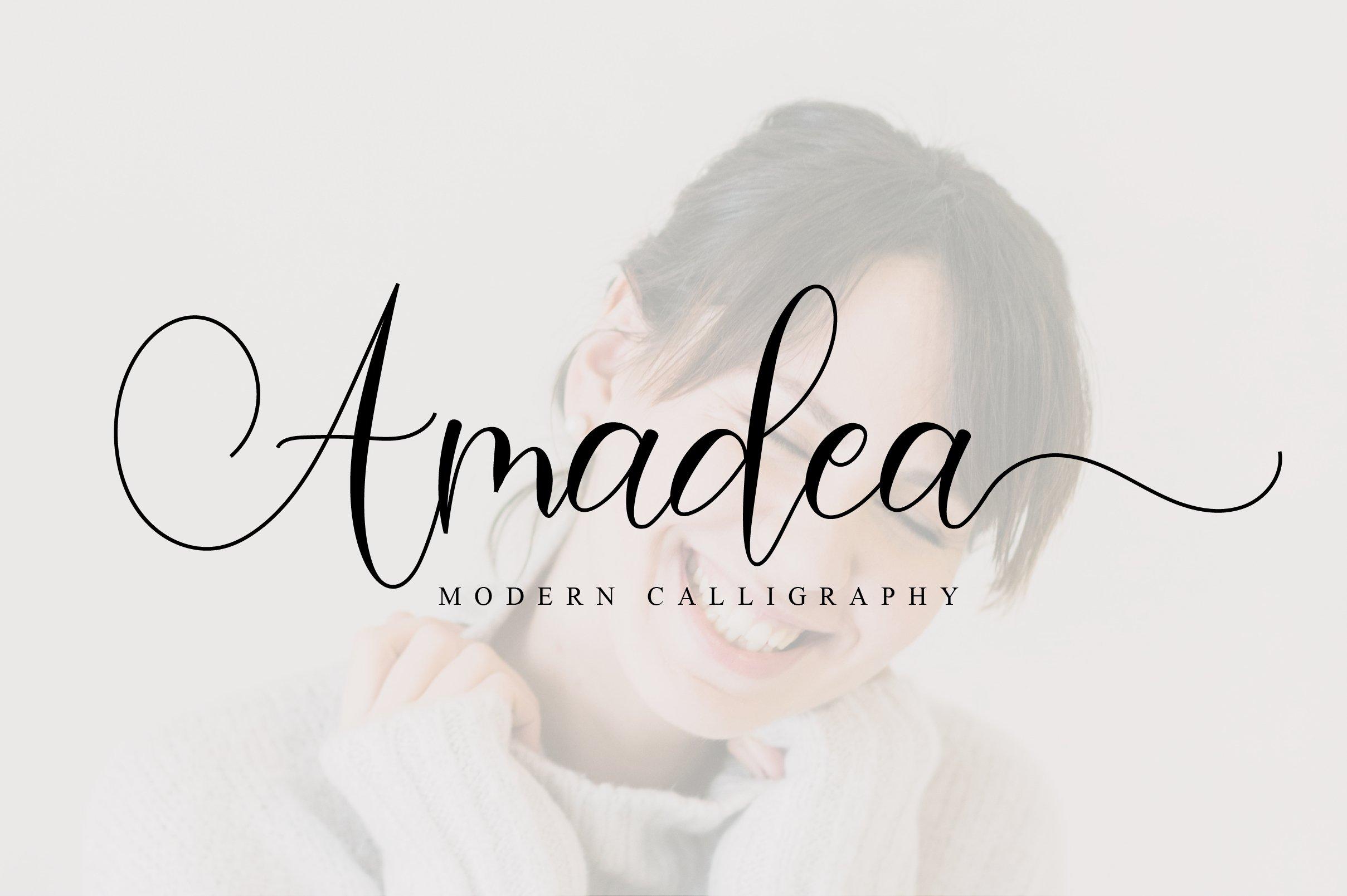 Amadea Script example image 1