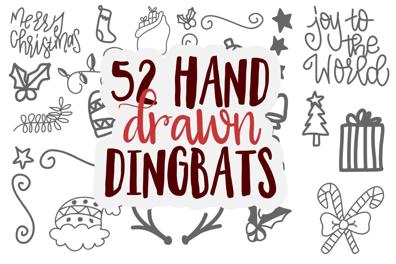 20 Christmas Fonts - A Christmas Font Bundle! example image 18