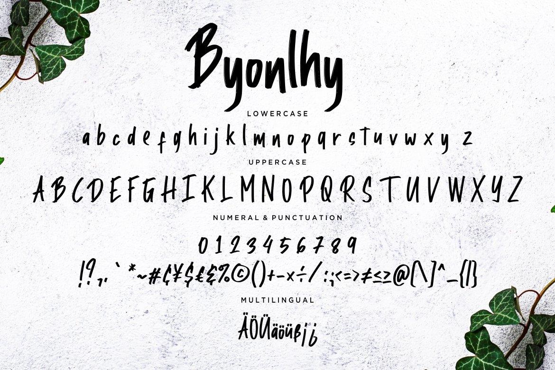 Jabawoky Stylish Handwritten example image 5