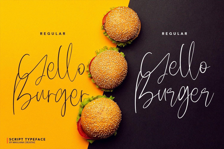 Delycious Script Restaurant Typeface example image 6
