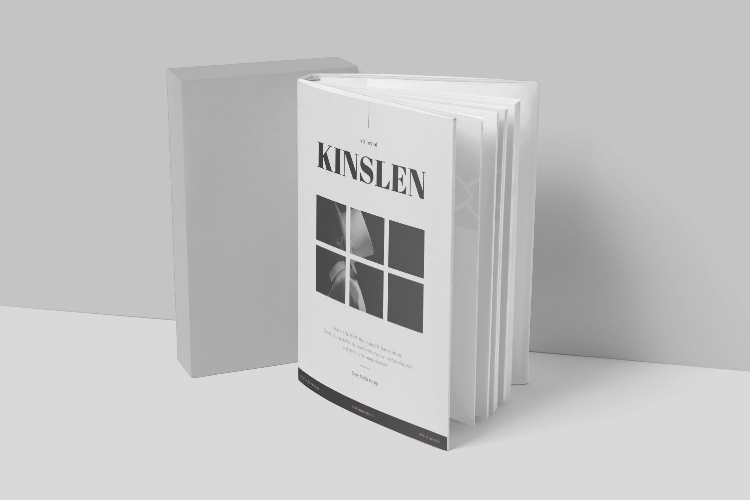 Kinslen Book Cover example image 4