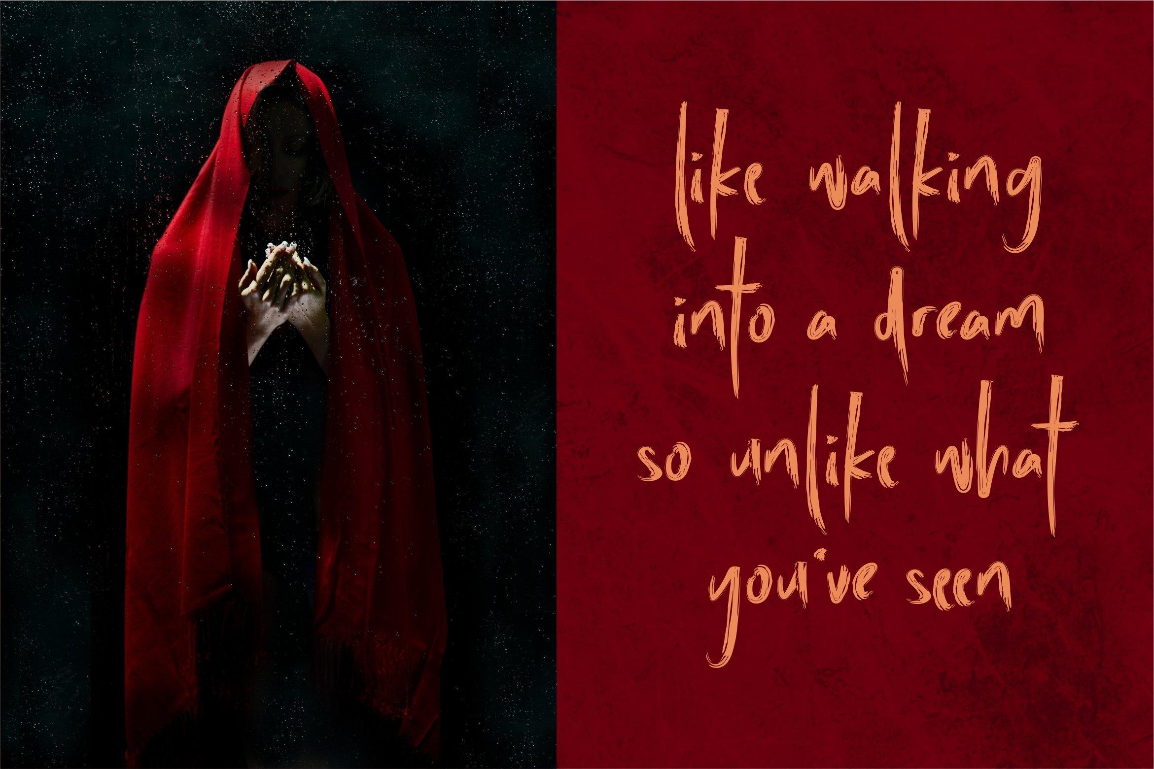 Afterlife - Brush Horror Font example image 7