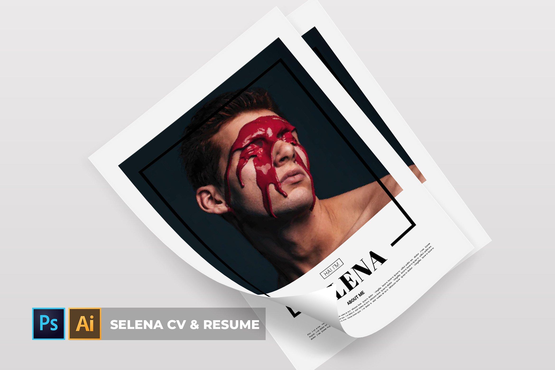 Selena Cv Resume 783020 Resume Templates Design Bundles