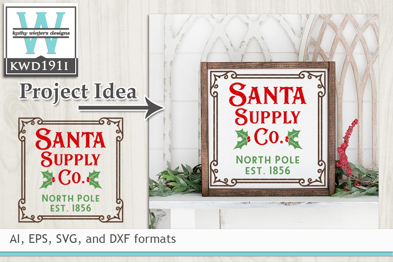 Christmas Svg Santa Supply Co 281317 Cut Files Design Bundles