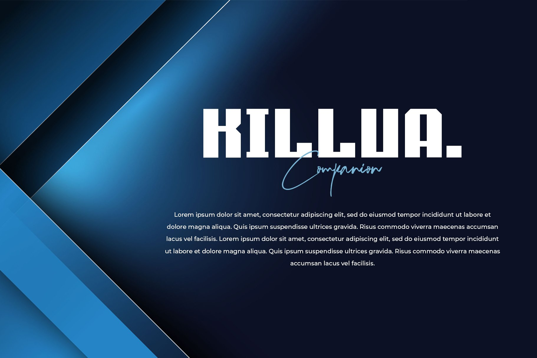 Cero - Modern Display Typeface example image 3