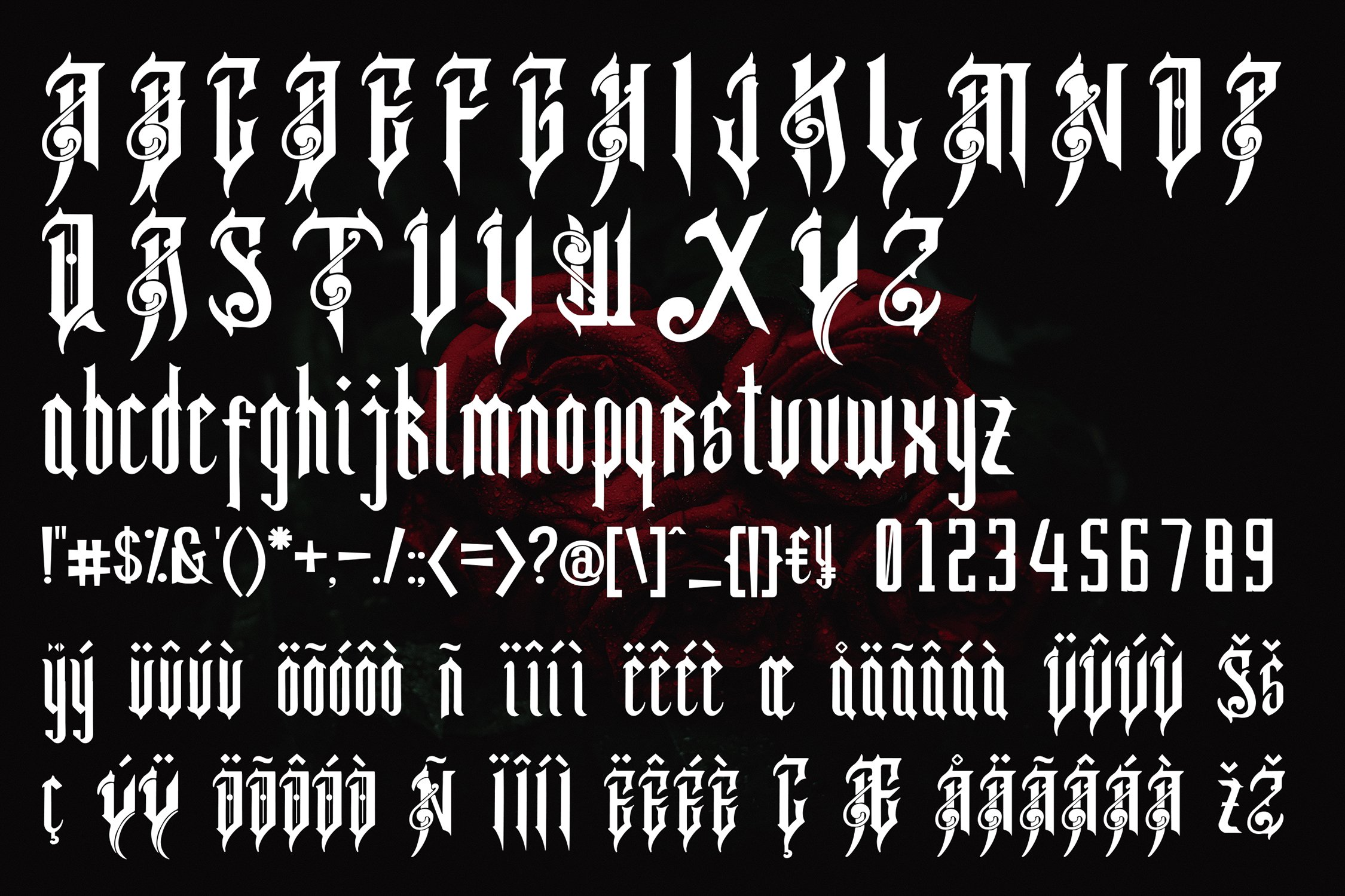 Gothica - Gothic Font example image 2