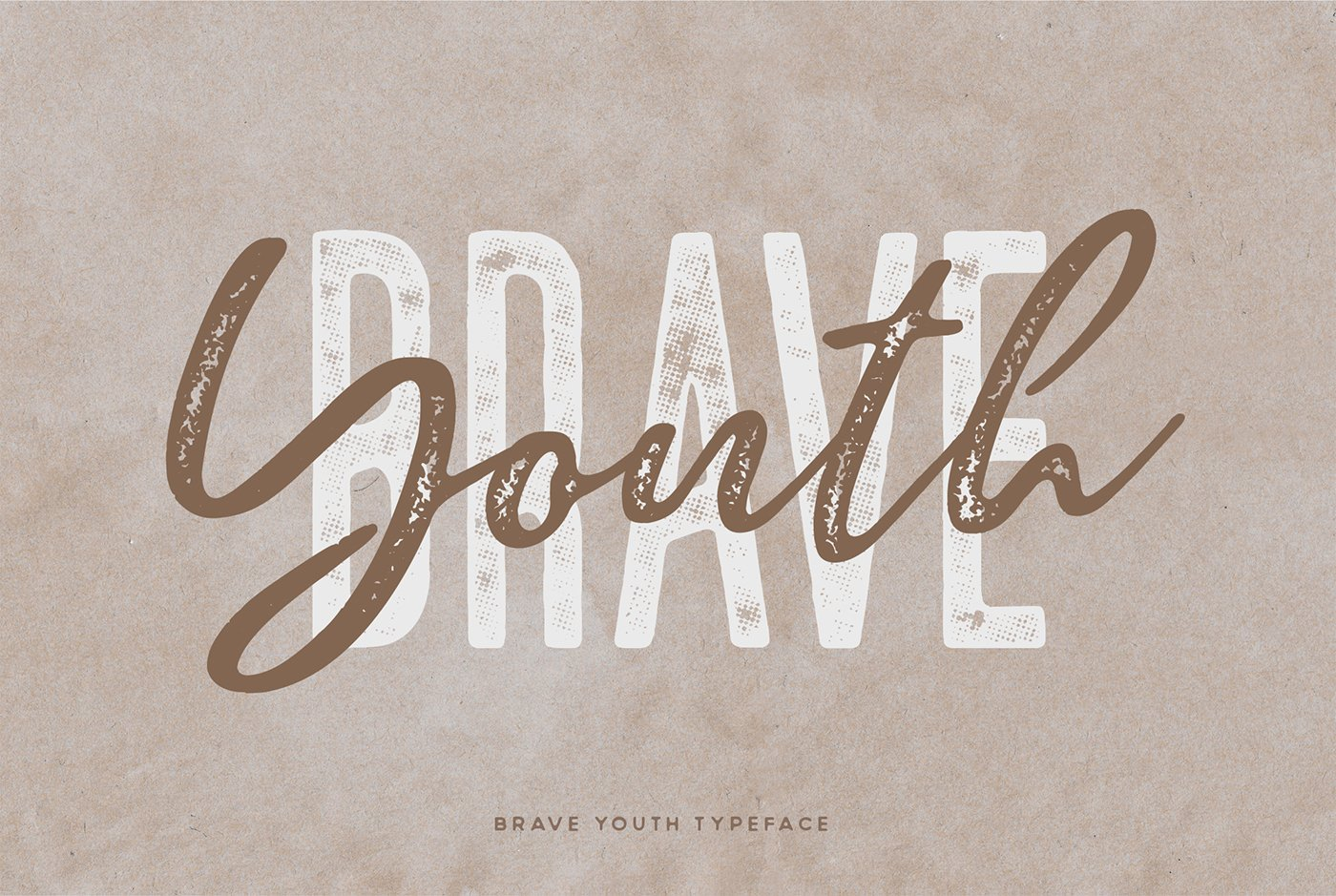 Brave Youth Script Typeface example image 10