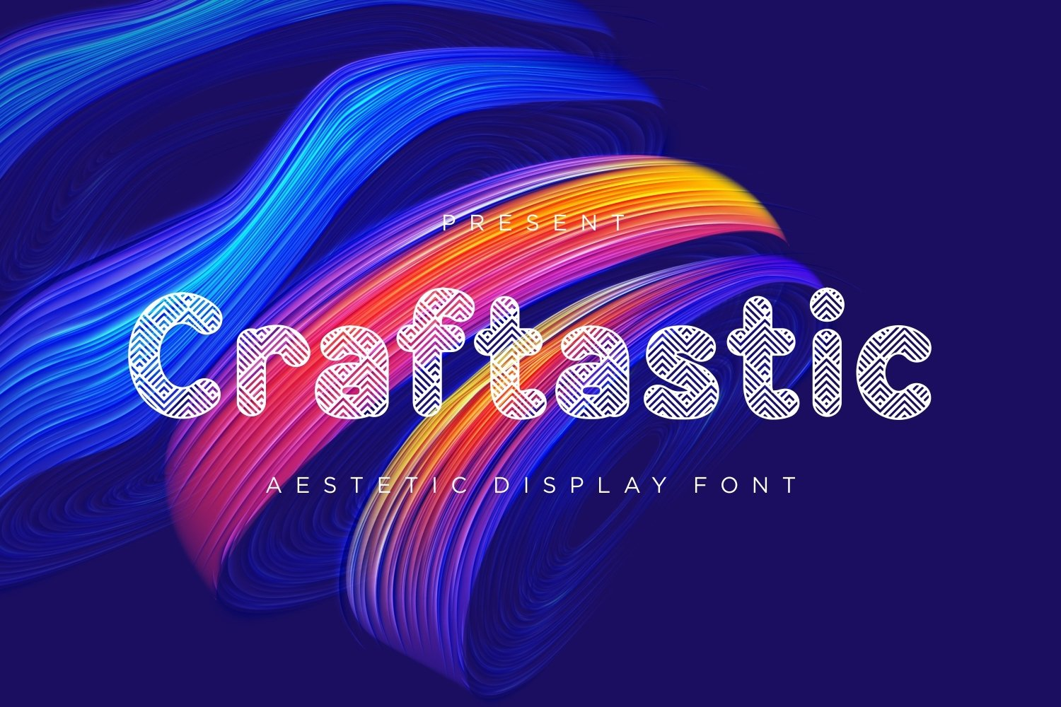 Craftastic - Aestetic Display Font example image 1