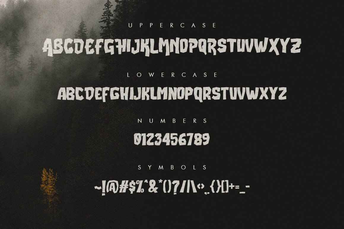 Buster Typeface example image 2