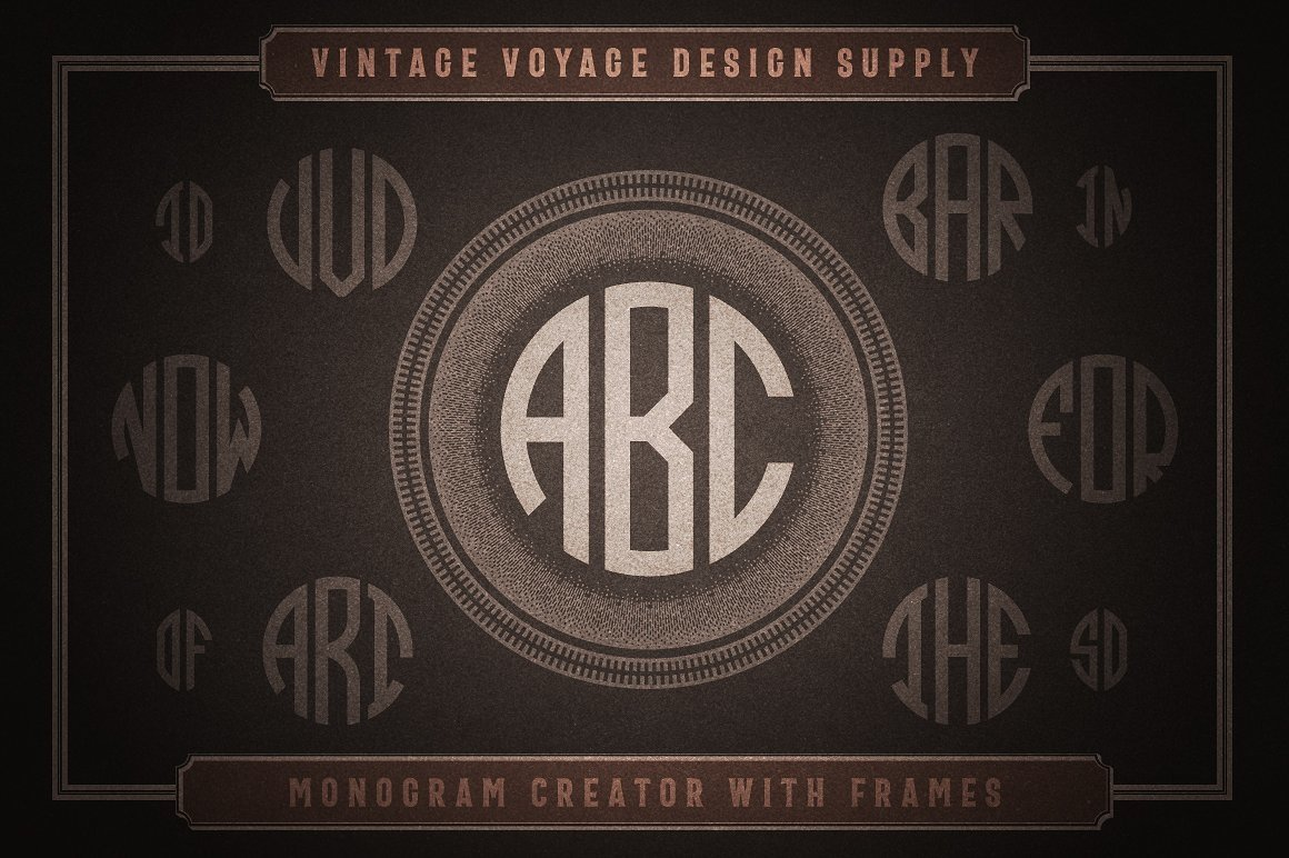 Huge Typographic Pack 60 Logos ! example image 13
