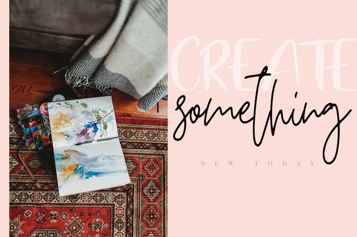 Breathe Slowly / Funny Font Duo example image 5