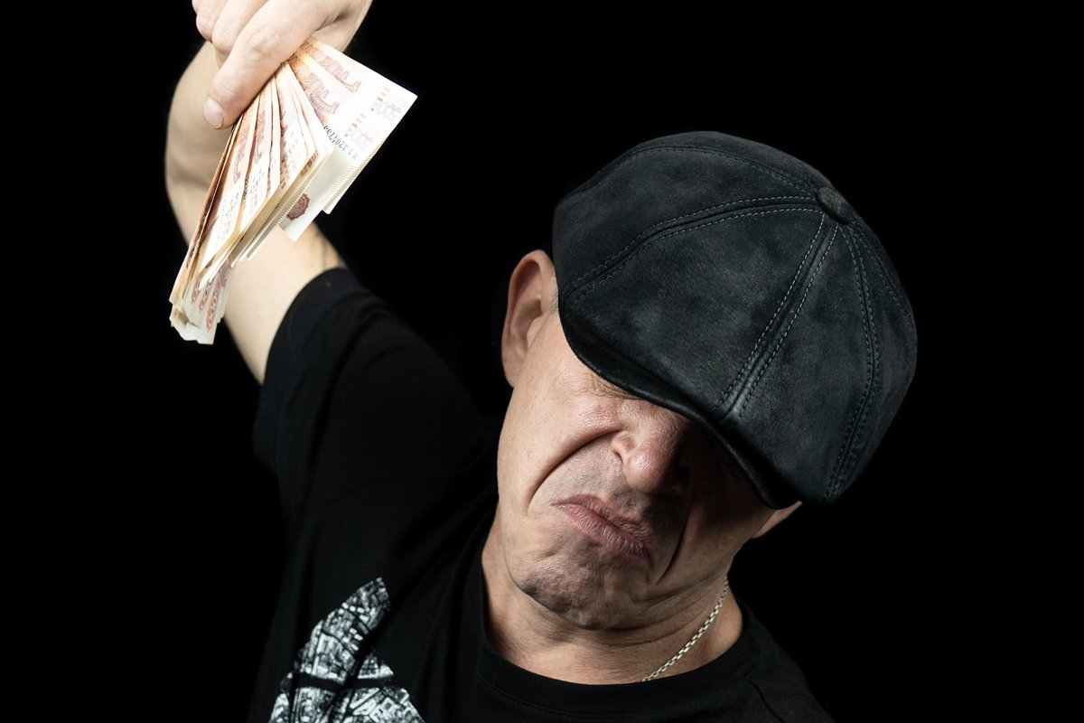 man with the money example image 1