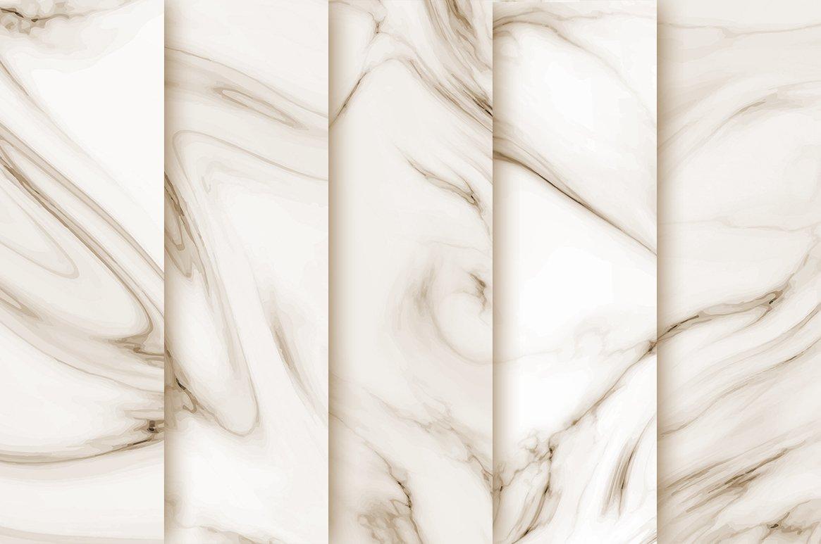 Wedding Marble Digital Paper example image 2