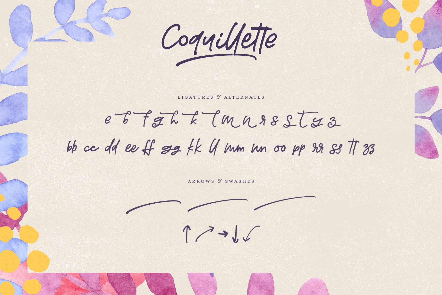 Coquillette | A Handwritten Script example image 8