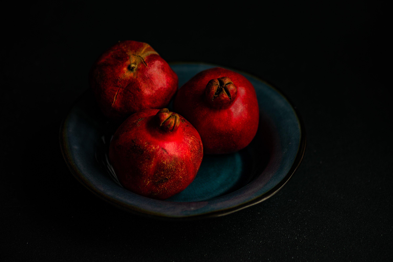 Organic pomegranate fruits example image 1