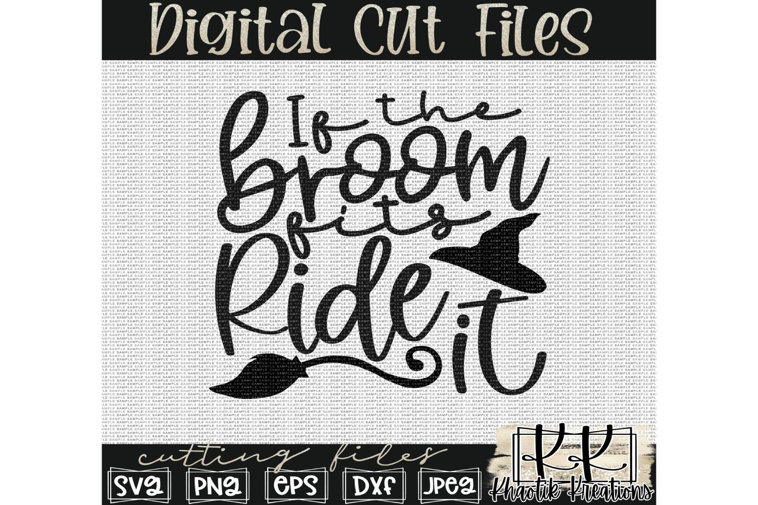 If The Broom Fits Ride It Svg Halloween Svg Designs Witch 806372 Cut Files Design Bundles