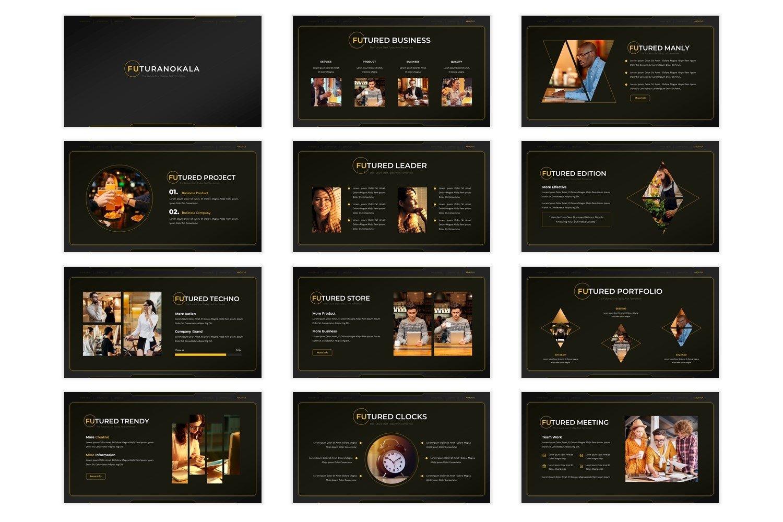 Futuranokala - Powerpoint Template example image 2