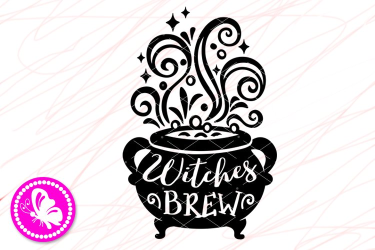 Halloween Witches Brew Svg File Halloween Decor Cricut Png 855043 Cut Files Design Bundles