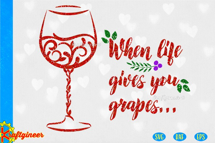 Download Wine Glasses Swirl Svg Kitchen Svg 341367 Svgs Design Bundles