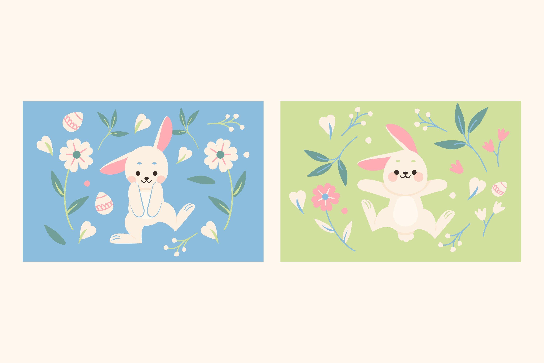 Rabbit Illustrations example image 1