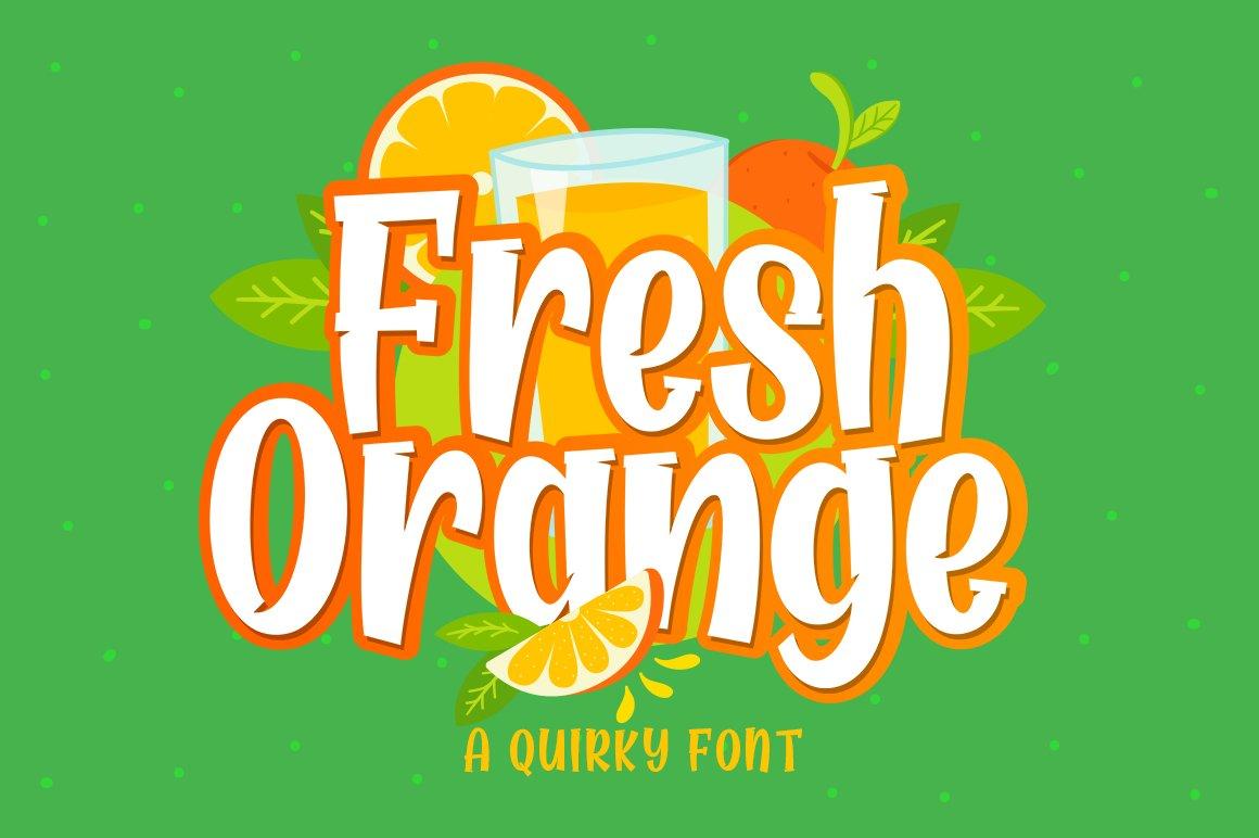 Fresh Orange example image 7