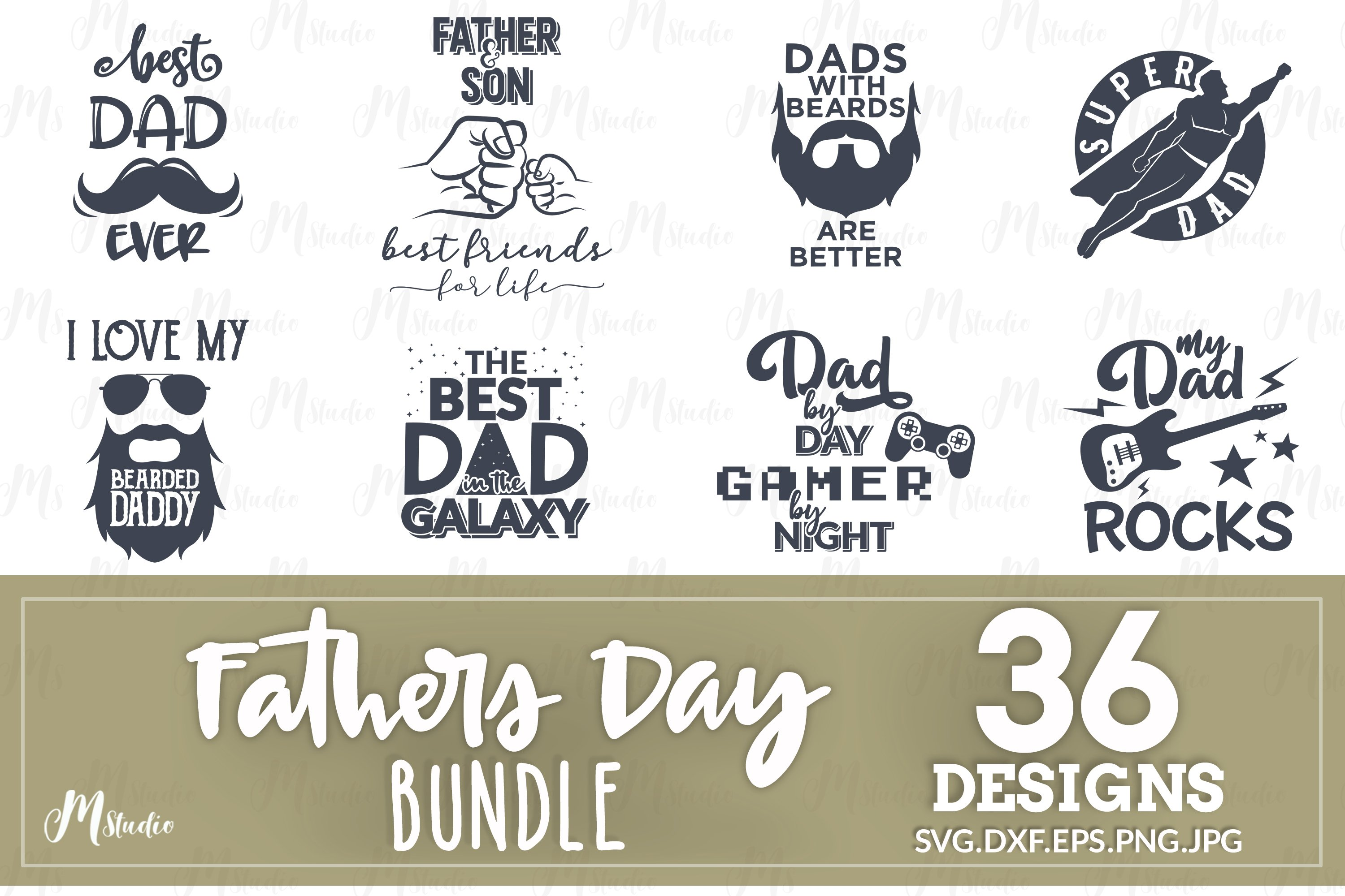Father S Day Svg Bundle 96451 Cut Files Design Bundles