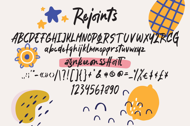 Rejoints - Script Fonts example image 3