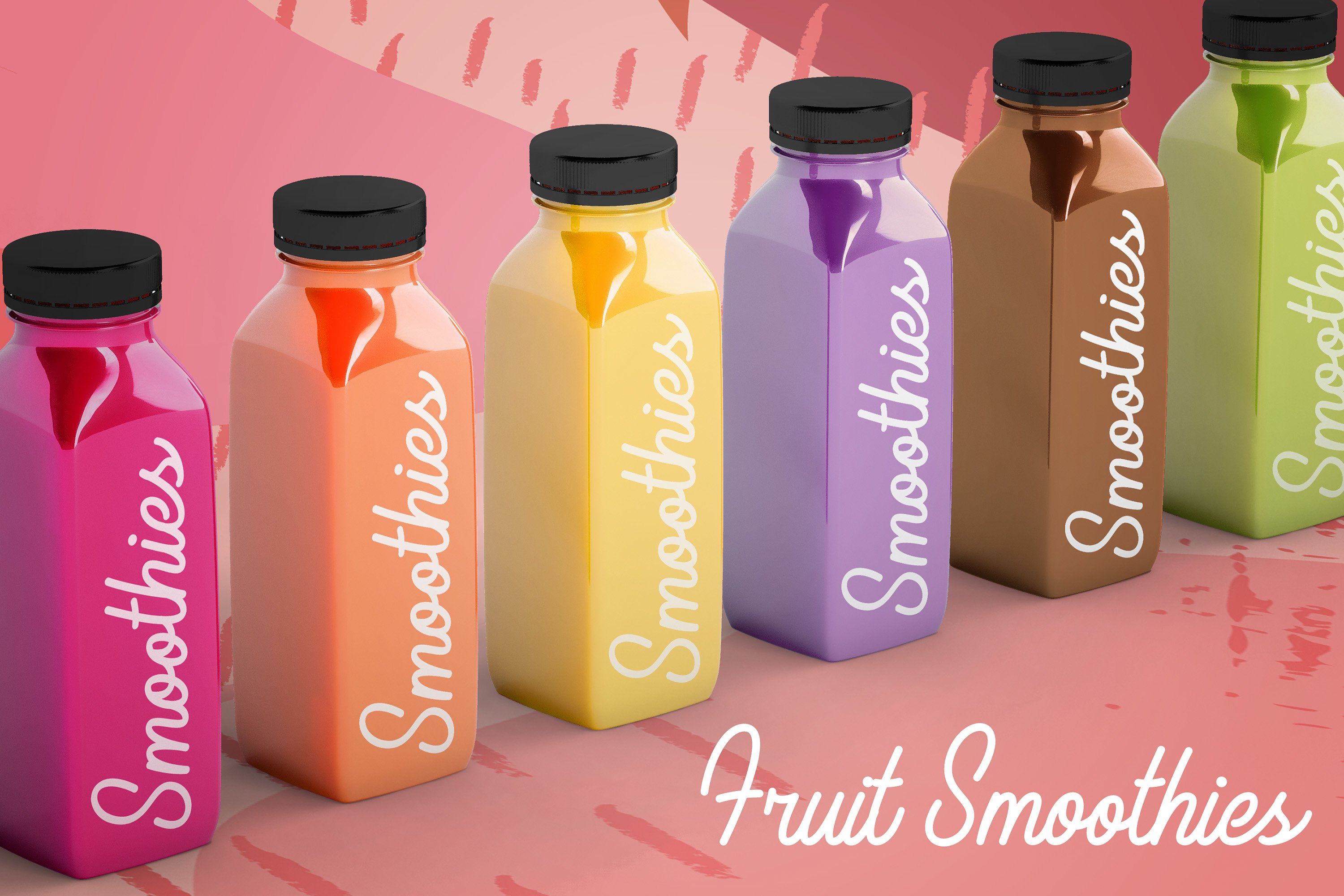 Smoothies - Cute Monoline example image 4