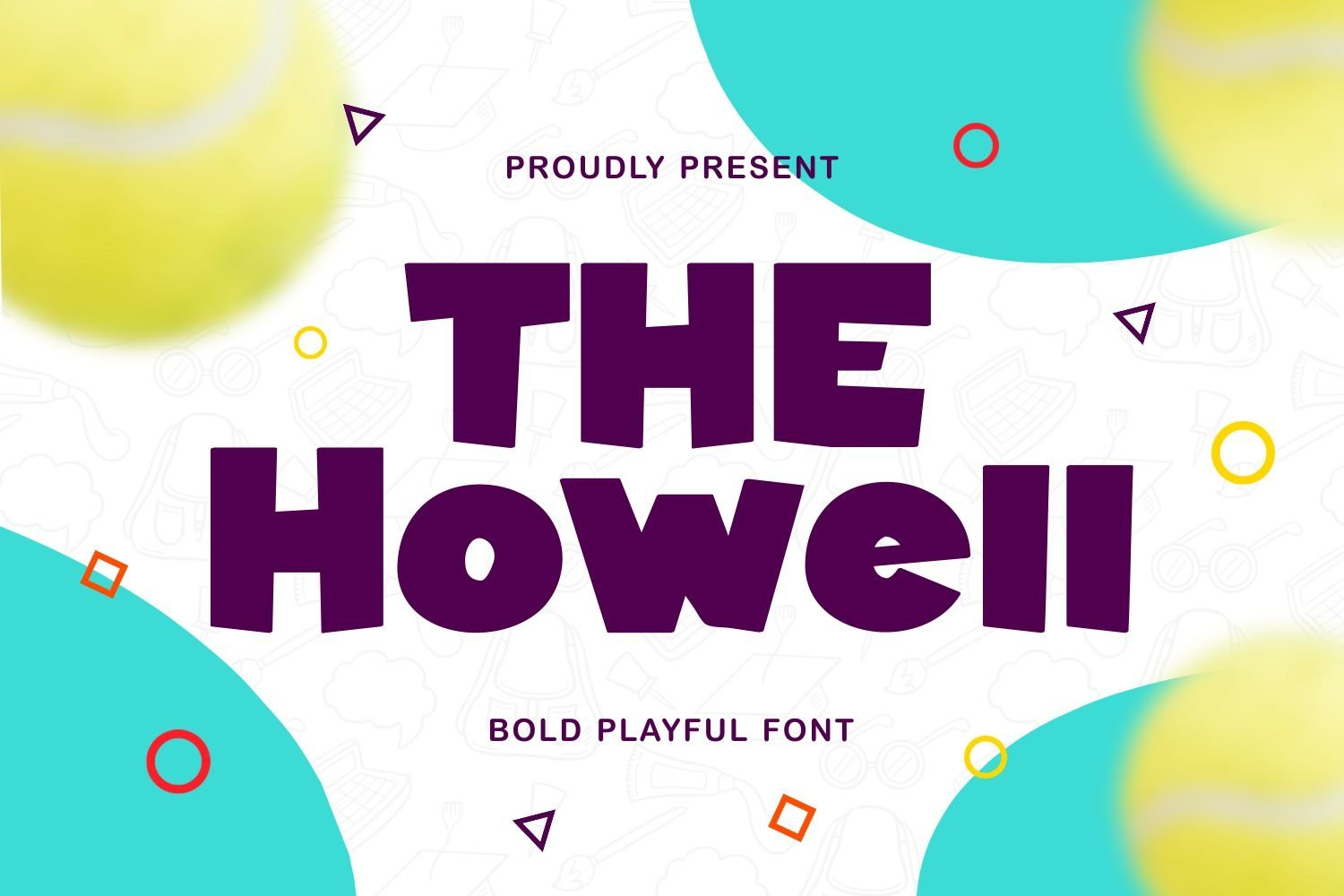 Howell - Bold Playful Font example image 1