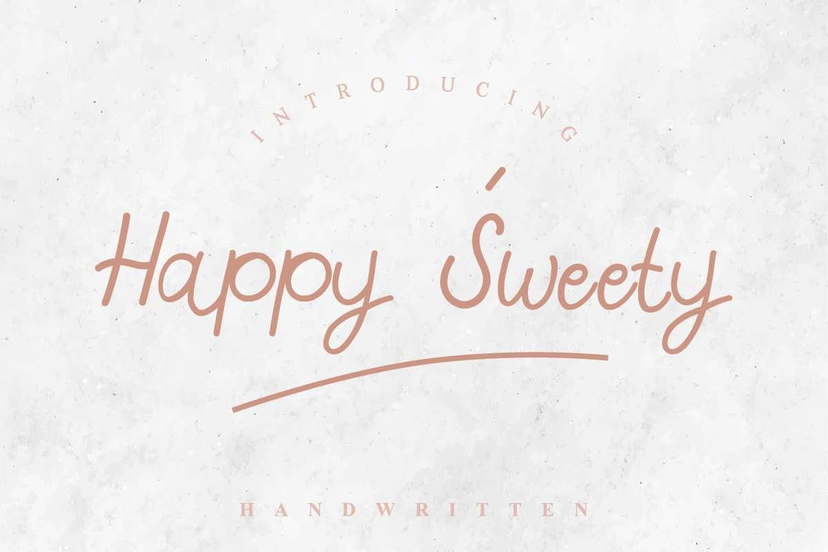 Happy Sweety example image 12