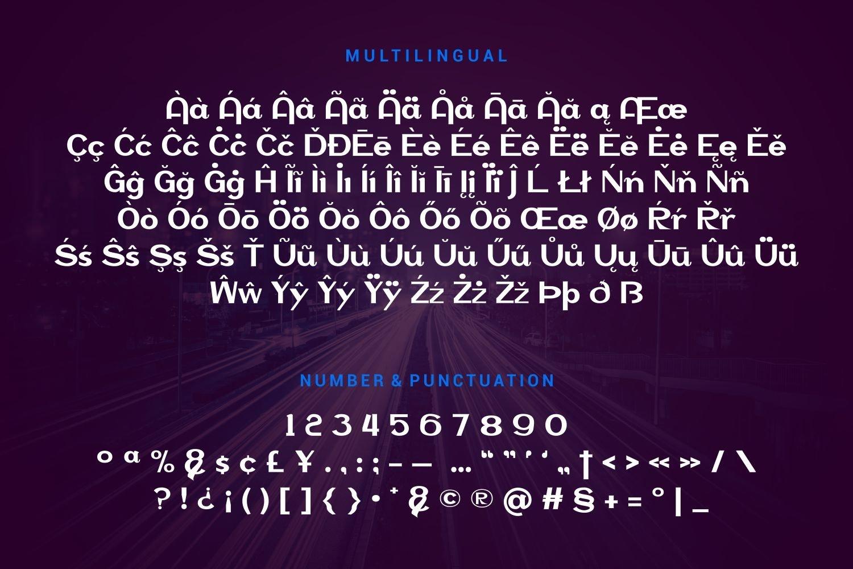 Vinnson - Modern Sans Serif Font example image 3