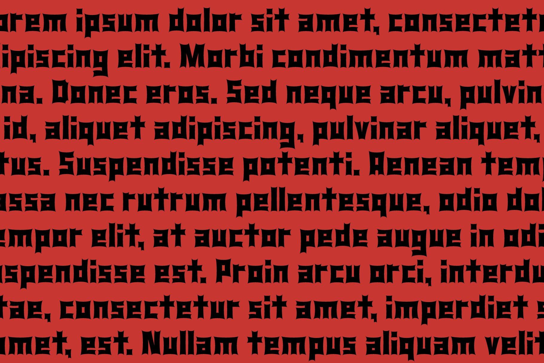 Monster Rock font - Monsta Rocka example image 10