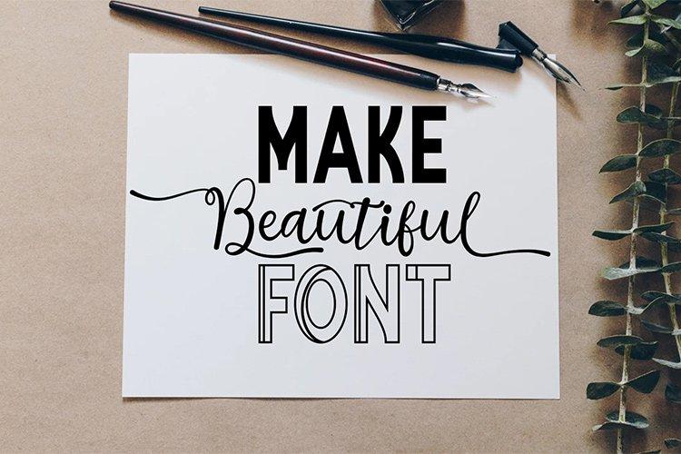 Vilona |Three Typeface example image 6