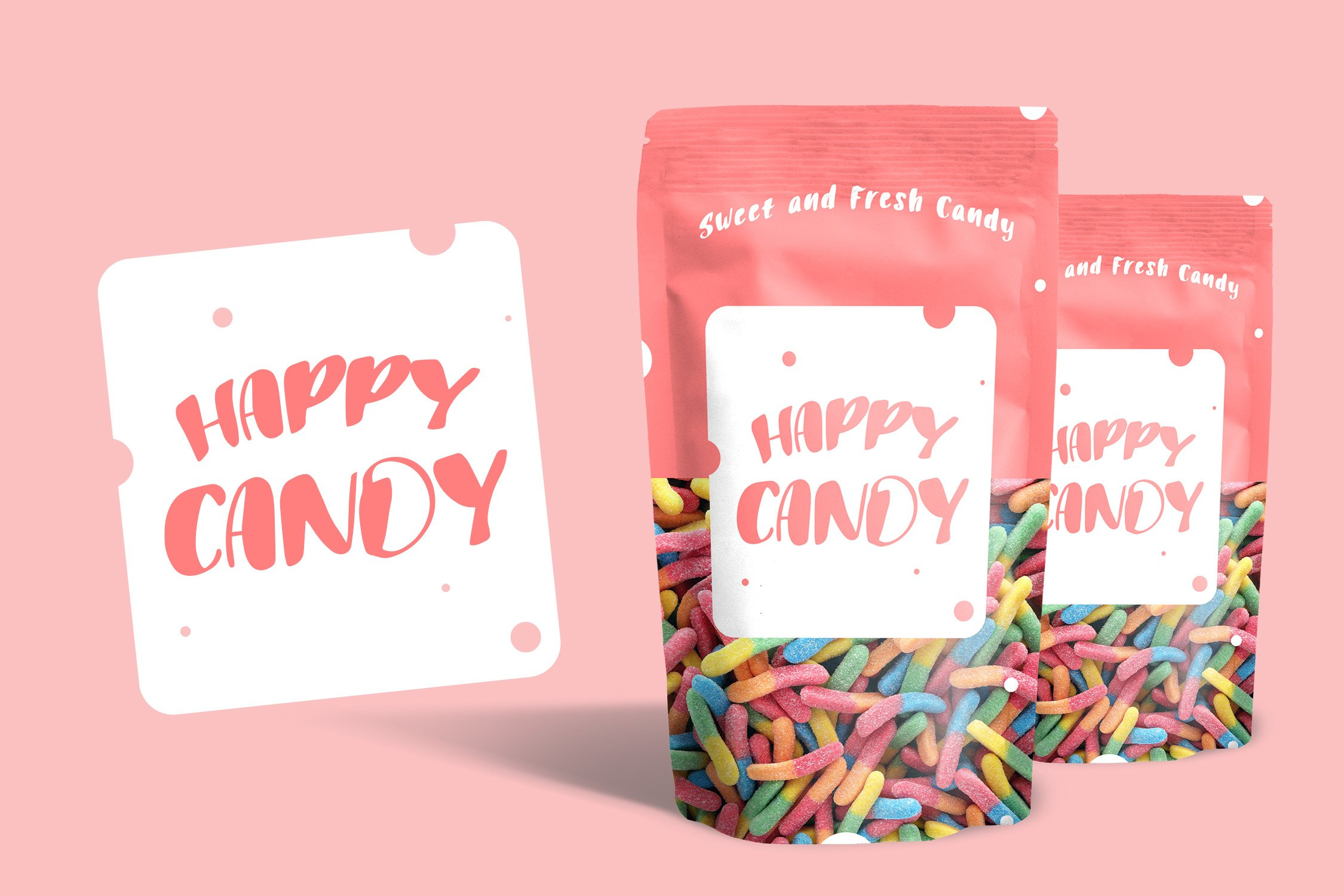 Puff Candle Playful Font example image 4