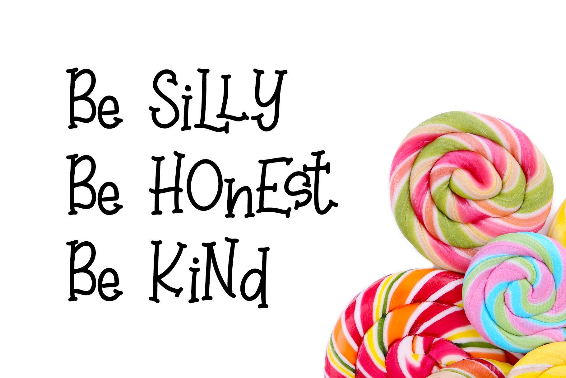 Sweet Lollipop - Fun Handwritten Font example image 5