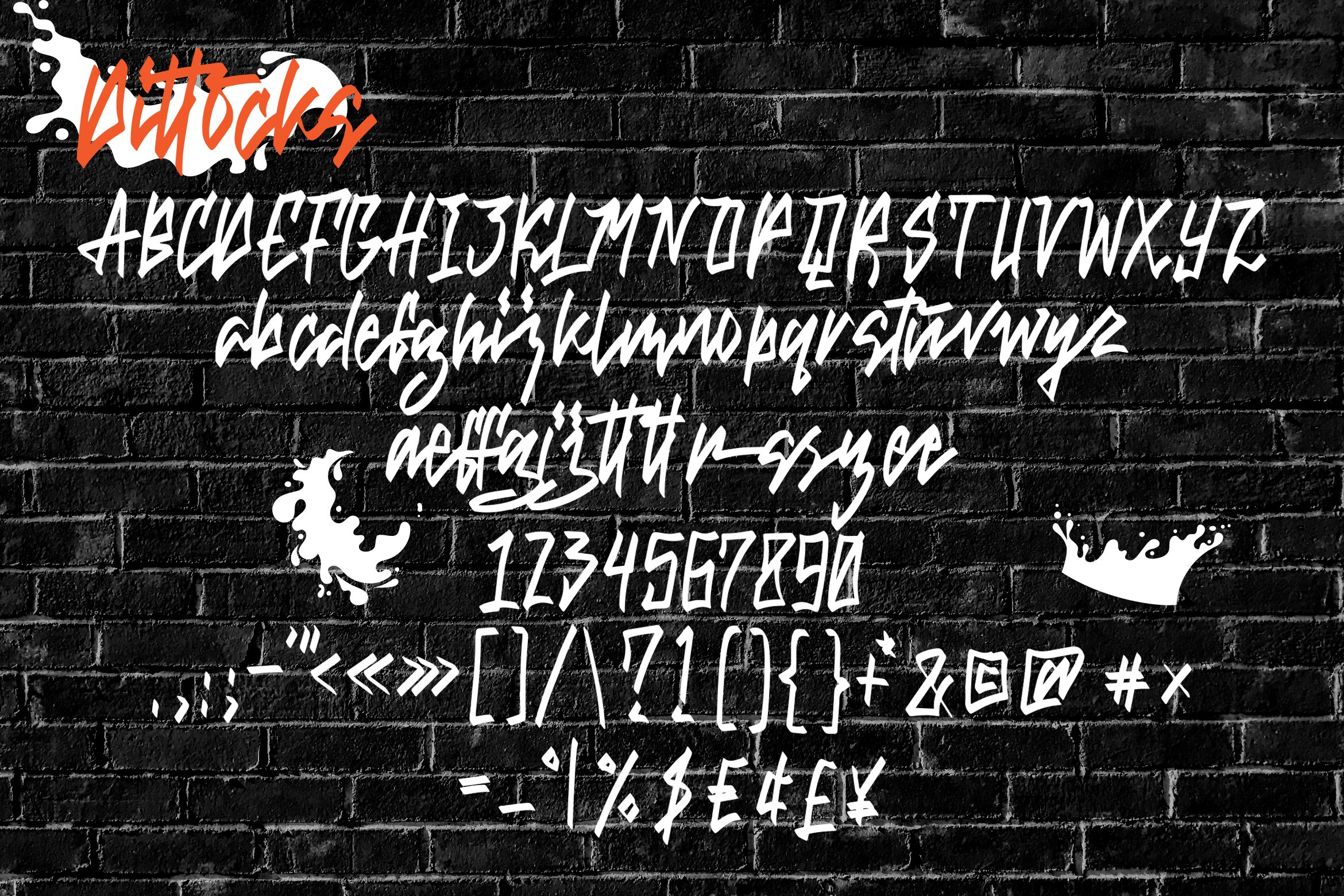 Dittocks - Graffiti Fonts example image 7