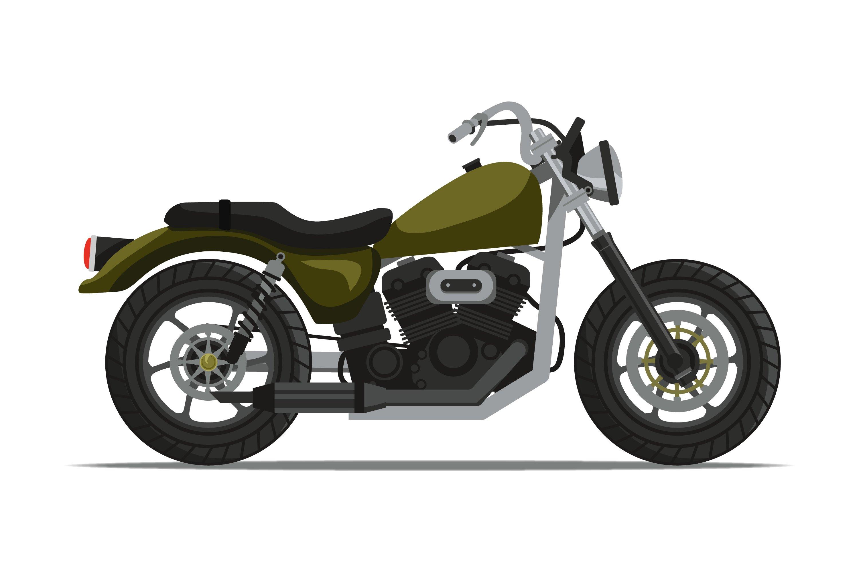 Motorbike Illustrations example image 1