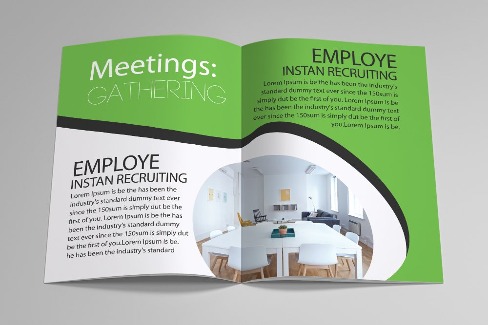 Business Agency Bifold Brochure 16 Pages example image 9