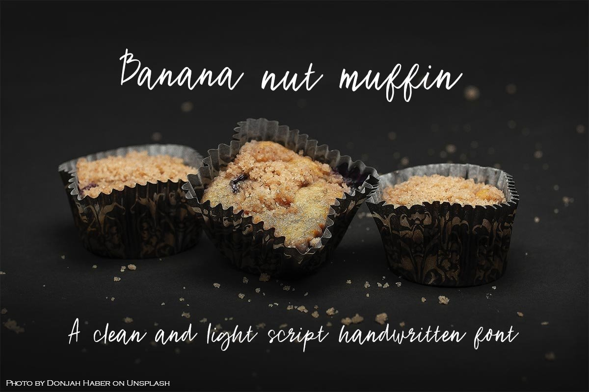 Banana Nut Muffin example image 1