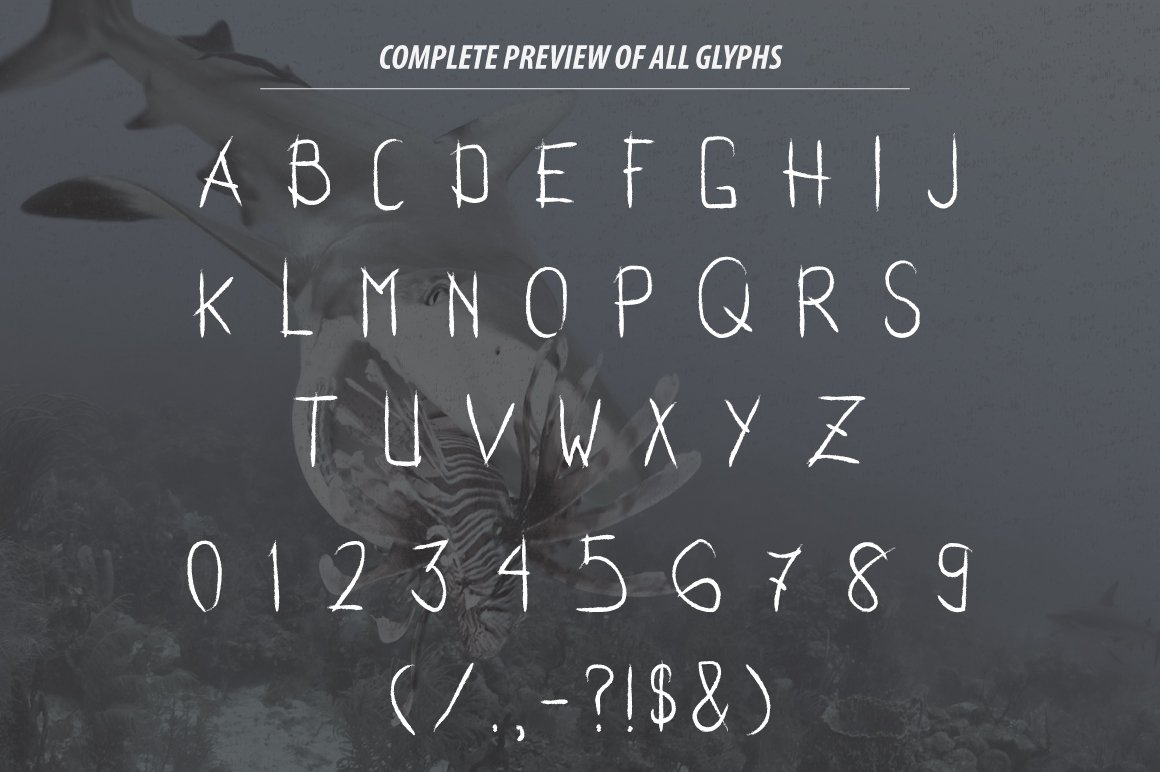 Sharktooth Typeface example image 4