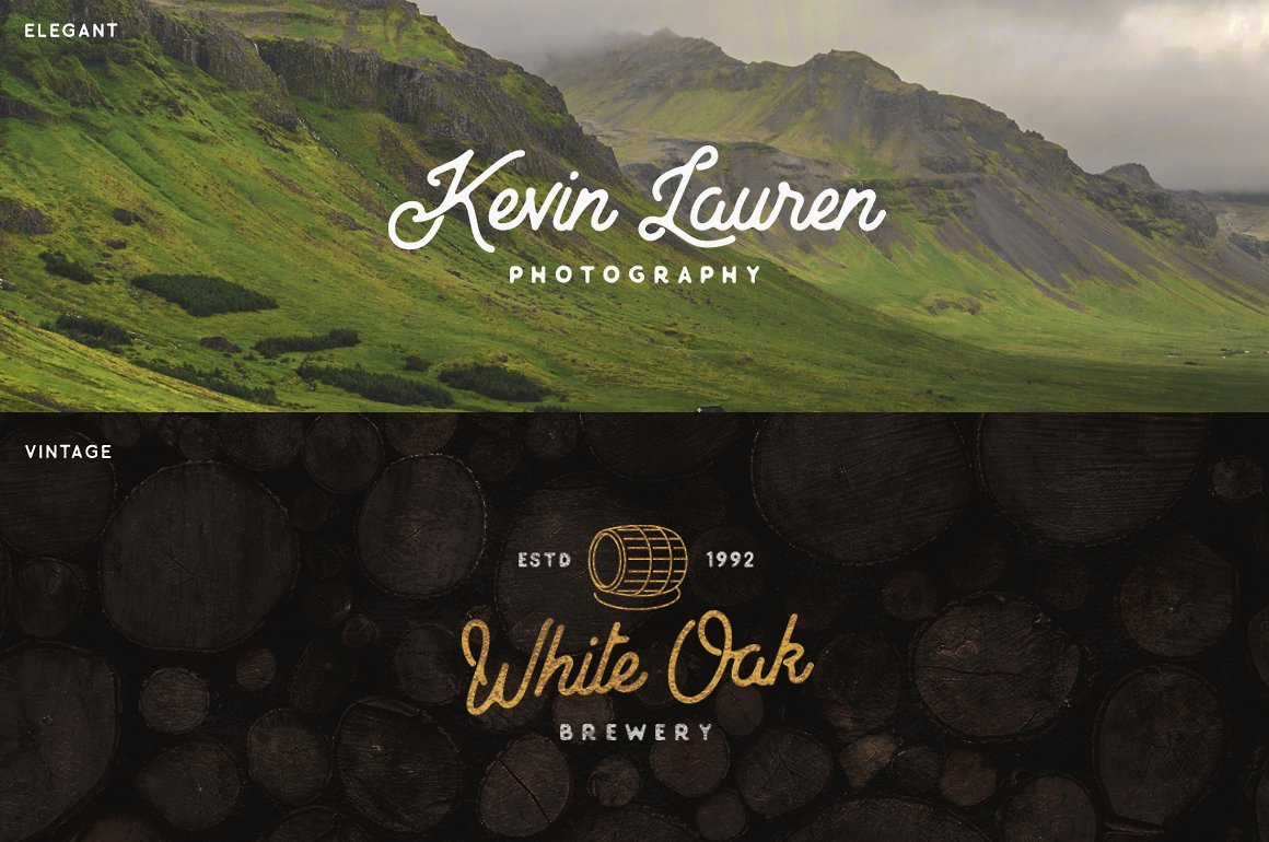 North Land Font Duo example image 4