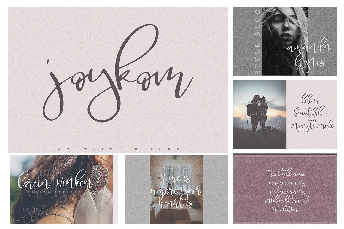Font Bundle 70 in One example image 3