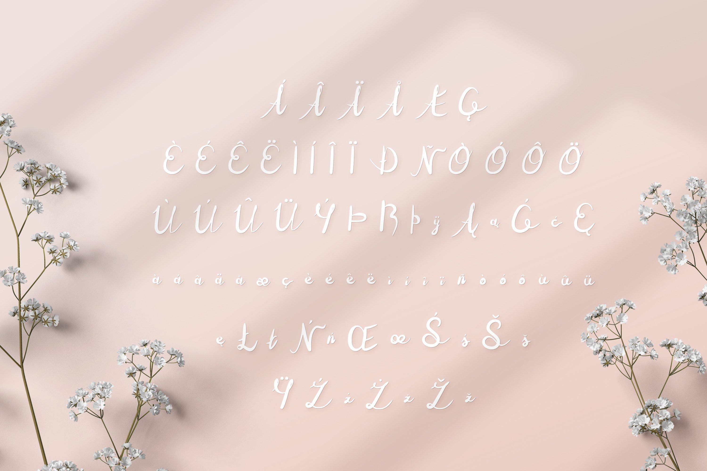 Milutki font example image 6