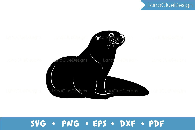 4 Otters SVG Bundle example image 5
