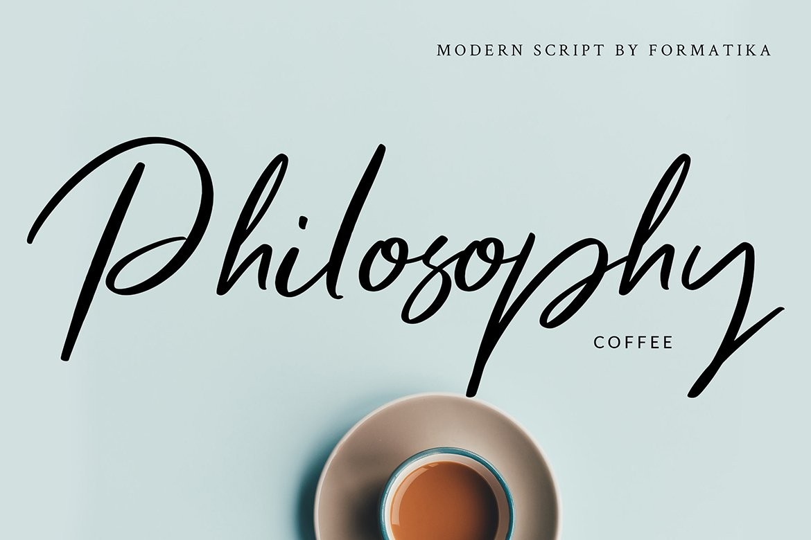 Mellany Modern Script Font example image 4