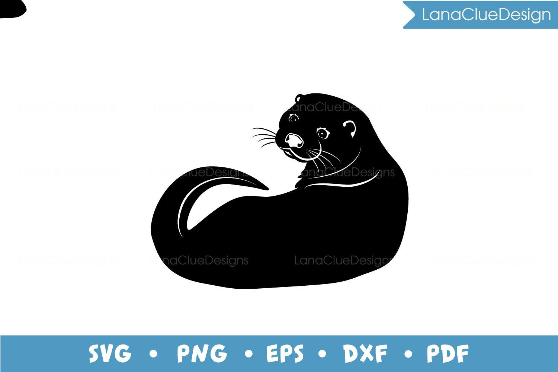 4 Otters SVG Bundle example image 4