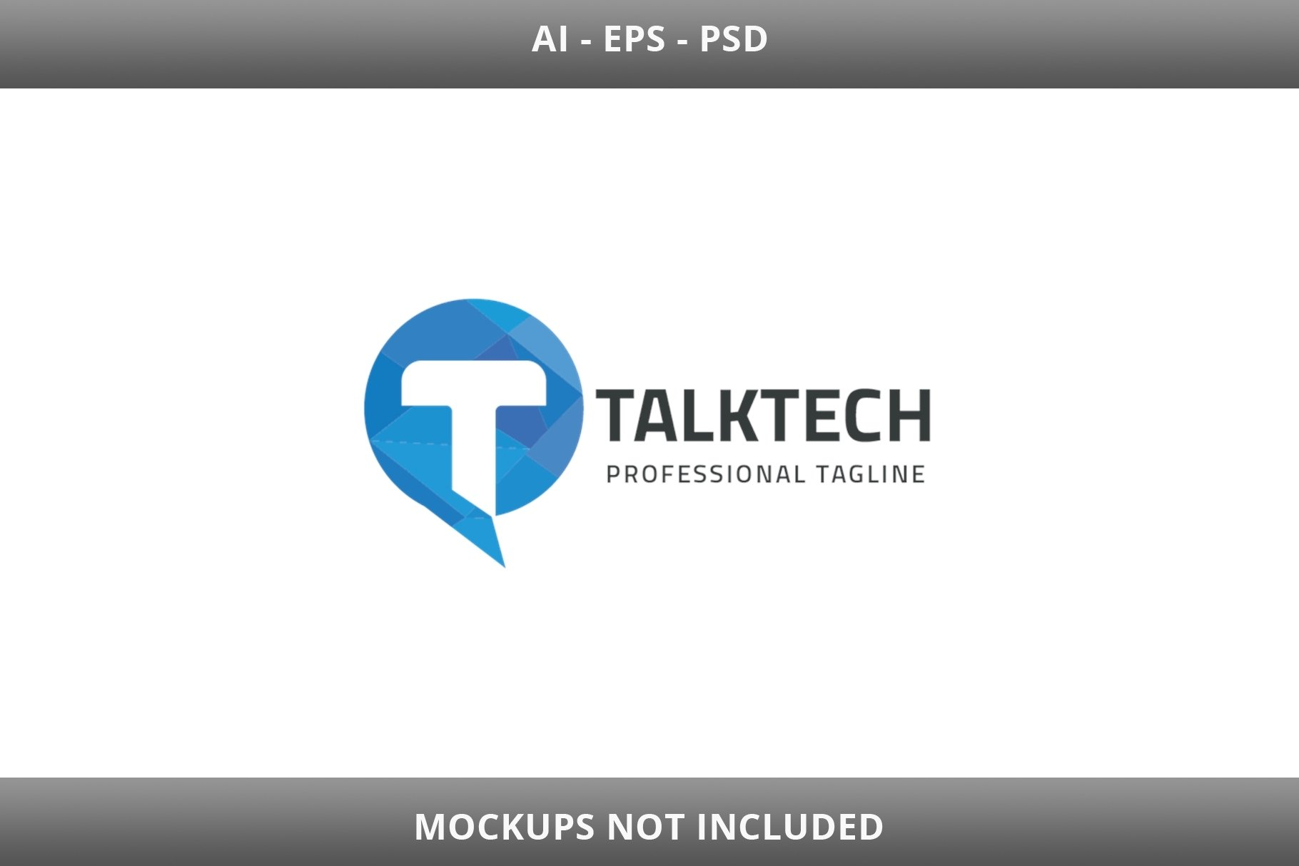 Talk Tech Letter T Logo example image 3