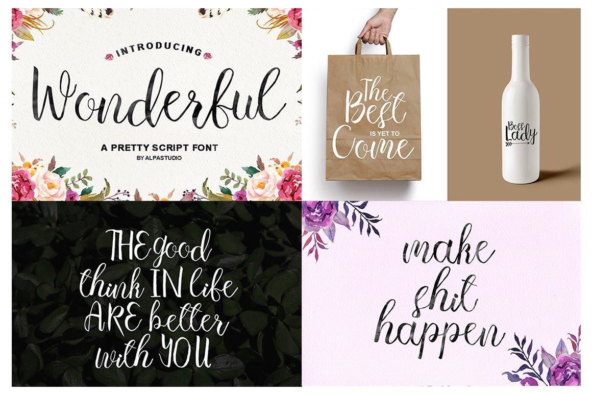 Handlettered Font Bundle example image 29