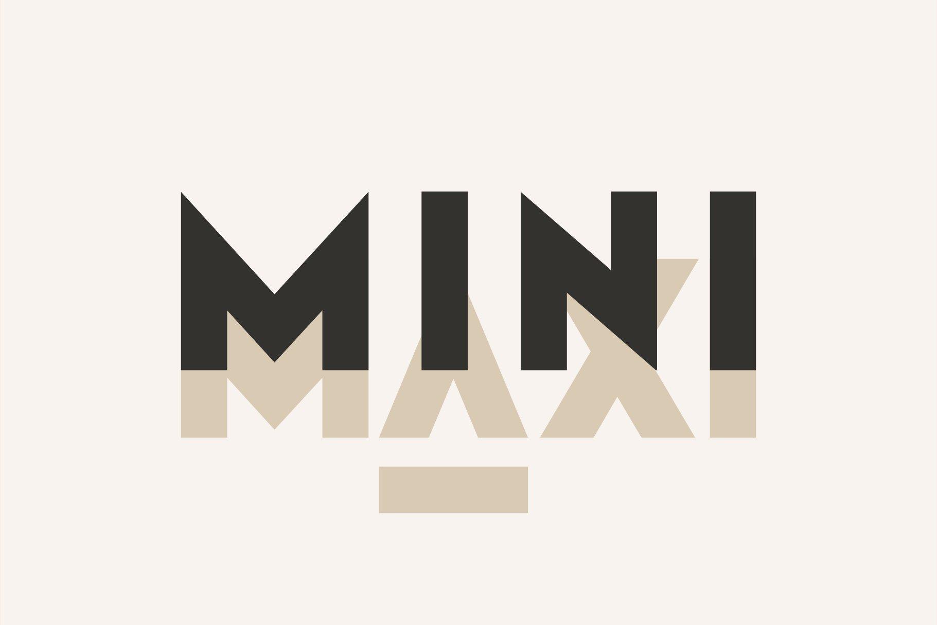 Klark. Sans serif font family. example image 2