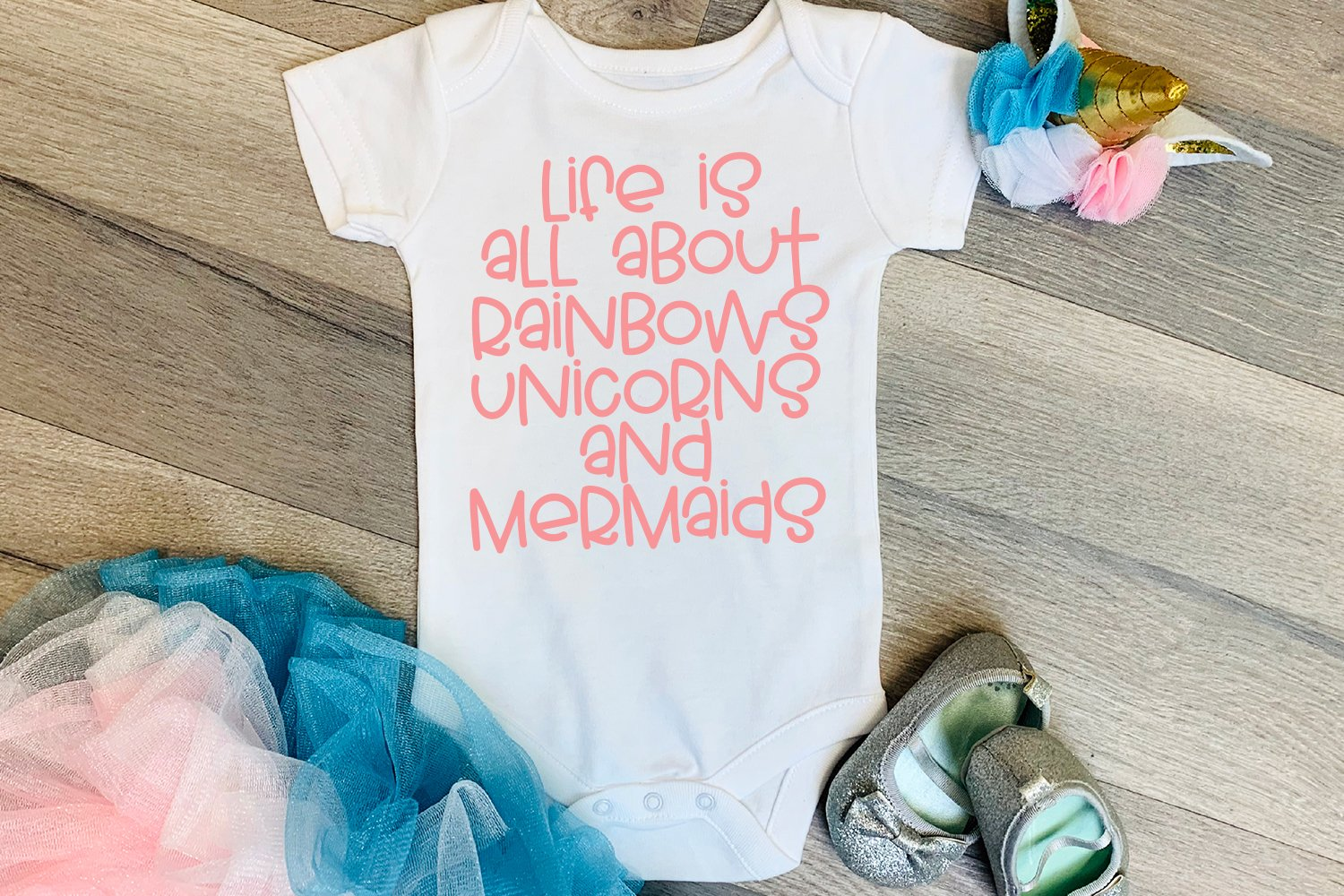 Rainbow Wishes - A Fun Handlettered Font example image 4